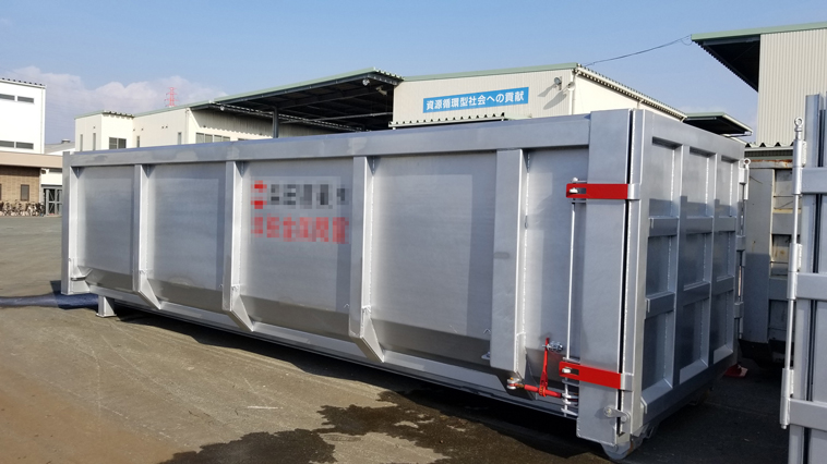 Our first generation of U shape hook lift bin products have been recognized by Japanese customers