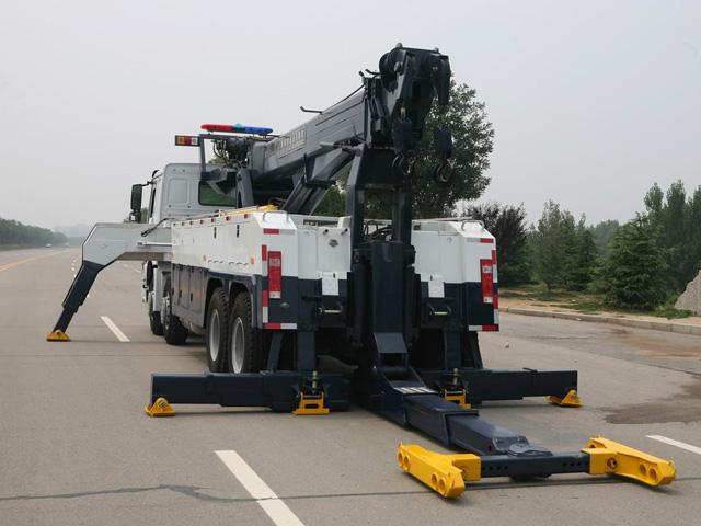 Rotator Type Tow Truck 50 Ton